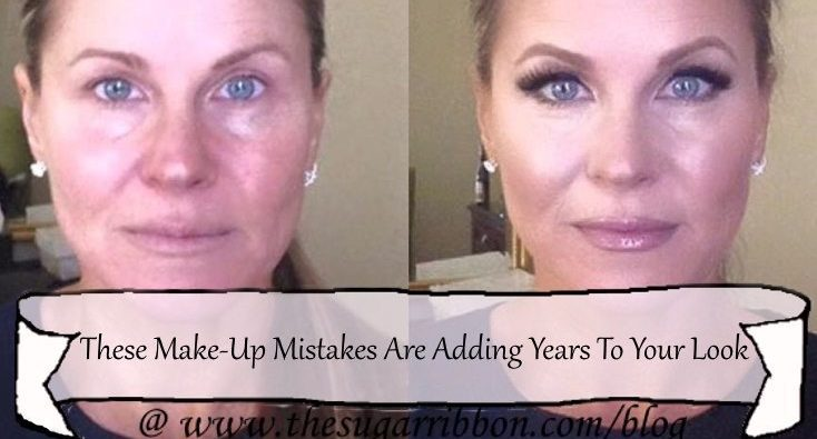 make-up mistakes adding years to your life