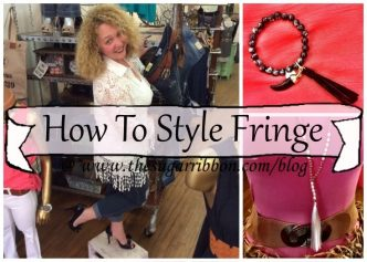 How To Style Fringe at The Sugar RIbbon ©2016 www.thesugarribbon.com/blog