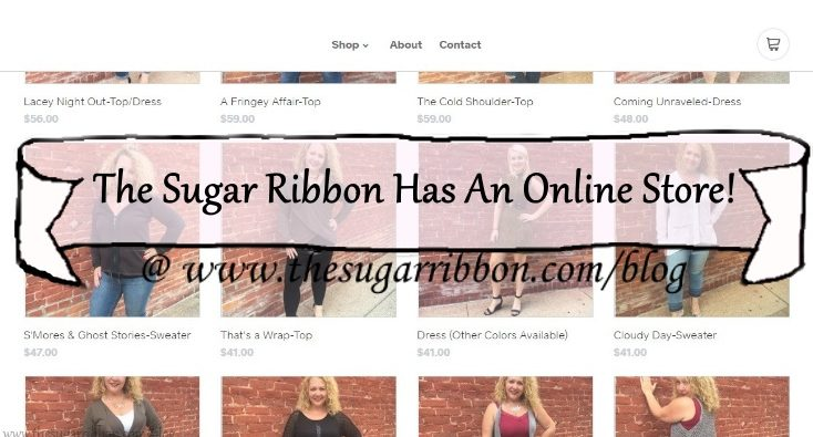 The Sugar Ribbon Now Has An Online Store